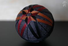 one-of-a-kind temari handcrafted for a cause