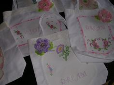 Shabby tote bags