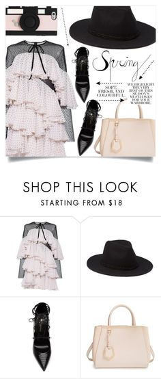 """""""Give Me Your Love"""" by sonny-m ❤ liked on Polyvore featuring Philosophy di Lorenzo Serafini, Forever 21, Yves Saint Laurent, Fendi, Kate Spade and Folio"""