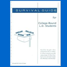 The second half of this new book is the best collection of practical, step-by-step advice for college students with dyslexia Susan Barton has ever seen. It includes tips on how to study, test taking strategies, how to interview professors before signing up for their classes, and much more.  David's advice comes from years as an advisor in college LD Support Centers – and his own college struggles.  Click here to buy this self-published book.  http://www.dcarsonldcoach.com/introduction.html