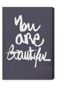 You really are!