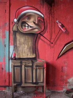 Graffiti de Belin em 2006 em Bilbao
