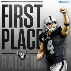 Raiders First Place in the AFC