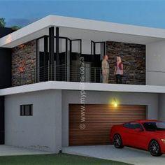 3 Bedroom House Plan - 4 Bedroom House Plan – My Building Plans South Africa - Split Level House Plans, Square House Plans, Metal House Plans, 4 Bedroom House Plans, Family House Plans, My Building, Building Plans, Home Design Plans, Plan Design