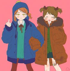 Kenny South Park, Tweek South Park, South Park Anime, South Park Fanart, Tweek And Craig, In A Heartbeat, Scooby Doo, Cool Art, Kawaii
