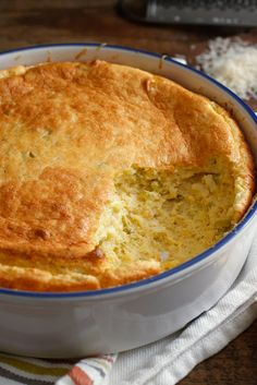 NYT Cooking: Spoonbread, a sort of cornmeal soufflé, is far more popular in places like Virginia and the Carolinas than in Tennessee and Mississippi, where I did my formative eating. I love it, but I never understood why nobody ever made it with cheese (cheese grits being one of the world's great creations), so I did. Purists will likely curse me, but I have to say that cheese%...