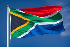 Today in Black History - February South African President FW de Klerk Lifted the 30 Year Ban on the African National Congress. In A Televised Speech, de Klerk Also Announced His Commitment to Release Jailed ANC Leader Nelson Mandela. South African Flag, Us Presidential Elections, Private Games, Game Reserve, Flags Of The World, Flag Banners, My Heritage, Teaching English, Continents