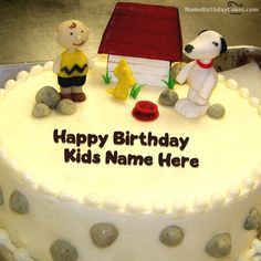 Write Name On Dog House Birthday Cake For Kids.Find this picture by searching the terms including kids birthday cakes.write name on kids birthday cakes. Happy Birthday Kind, Birthday Msgs, Birthday Wishes With Name, Birthday Wishes Cake, Happy Birthday Cake Images, Birthday Cake With Flowers, Birthday Wishes And Images, Wishes Images, Easy Kids Birthday Cakes
