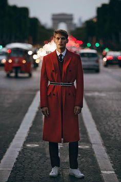 Baptiste Radufe by Olivier Yoan for THE PEAK Hong Kong Magazine.