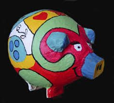 papier mache - varken