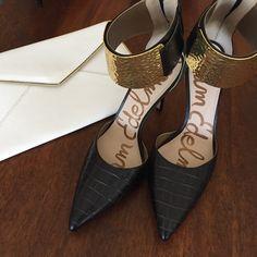 "Sam Edelman Dustin Pump Like new condition. No wear on soles. Size 7.5. 4"" heel. Sam Edelman Shoes Heels"