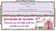 Sociedade de Socorro - Cartão de Boas Vindas para membros novos na ala
