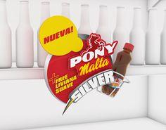 BAVARIA - PONY MALTA - RETAIL POP