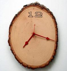 Easy Rustic Wood Slab Design