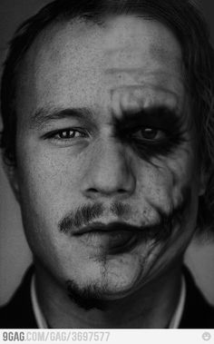 """I'm not good at future planning. I don't know what I'm doing tomorrow. I don't have a day planner and I don't have a diary. I completely live in the now, not in the past, not in the future."" - Heath Ledger"