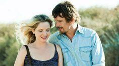 """Julie Delpy y Ethan Hawke en """"Antes del anochecer"""" de Richard Linklater (2013)"""