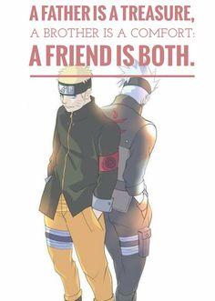 Kakashi Hatake y Naruto Uzumaki