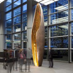 Mindseye provided the lighting design for the recently unveiled monumental sculptures commissioned by HSBC to mark its 150th anniversary.