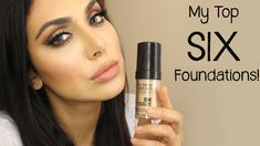 my top 6 foundations (video)! « huda beauty – makeup and Huda Beauty Makeup, Makeup And Beauty Blog, Diy Makeup, Diy Beauty, Makeup Tips, Beauty Hacks, Makeup Goals, Top Foundations, Beauty Secrets