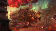 cypulchre:    Chinatown of the Future by Sangtae Yun  OP:  7blueto…