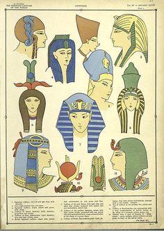 The History of the Feminine Costume of the World Egyptian Mythology, Ancient Egyptian Art, Ancient History, Art History, Egyptian Fashion, Egyptian Costume, Egypt Art, Thinking Day, African History