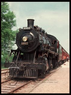 © Princess Treasures -1800s steam engine