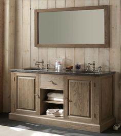 badkamermeubel landelijke stijl - Google zoeken