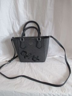 Guess HandBag CrossBody Color Black Grey Coal SV666881 Curran Mini  Worldwide  GUESS  Mini Guess 36710c1109bef