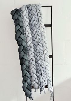 Bedspread plait gray. by taftyli on Etsy, zł850.00