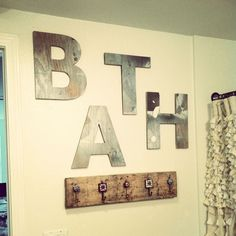 DIY Bathroom Wall Makeover   For the Home