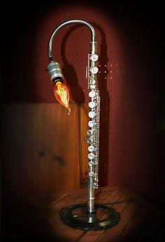 #Flute lamp Jeffrey Press