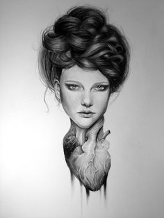Graphite drawing by Fine artist Kit King #elementedenartsearch