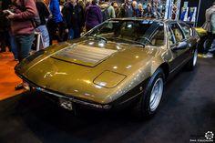 #Lamborghini #Urraco au salon Retromobile à #Paris Reportage complet : http://newsdanciennes.com/2016/02/08/grand-format-retromobile-2016/ #Vintage #VintageCar