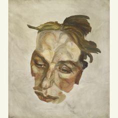 Lucian Freud - Portrait Fragment, 1960