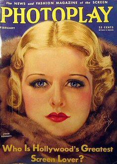 Joan Bennett - Photoplay Magazine February 1933