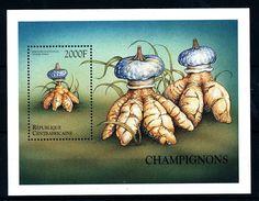 Centrafrica - Mushroom stamp