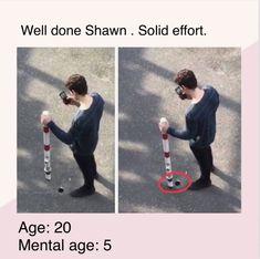 Omg hahahah I love u Shawn! Shawn Mendes Tour, Shawn Mendes Quotes, Funny Quotes, Funny Memes, Hilarious, Jokes, My Big Love, Love You, Cameron Alexander Dallas