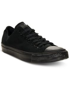 CONVERSE Converse Men's Chuck Taylor Ox Athletic Casual Sneakers from Finish Line. #converse #shoes # all men