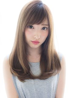 Adult clarity Tsuyawankaru (hairstyle Long)
