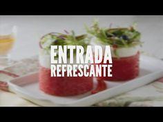 Entrada refrescante | Receitas Saudáveis - Lucilia Diniz - YouTube