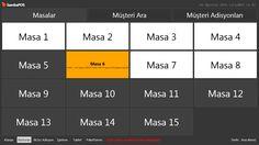 SambaPOS,SambaPOS5,SambaPOS 5,SambaPOS V5 Customizing,SambaPOS Table View Customizing