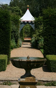 Fountain - Coughton Gardens
