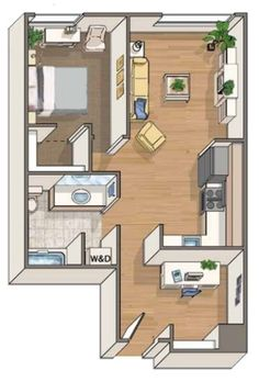 Apartments for Rent in Seattle | Alley24 Floor Plans