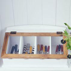 ber ideen zu besteckkasten auf pinterest verstauen schubladen und besteckkasten holz. Black Bedroom Furniture Sets. Home Design Ideas