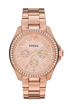 Rose Gold Fossil Watch Just got this for my birthday!!! Love love love