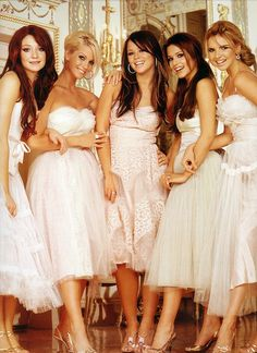 5 beautiful ladies. Girls Aloud will never be forgotten. Their music will always be quirky & cool, no matter the generation.