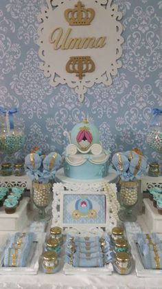 Beautiful Cinderella birthday party! See more party planning ideas at CatchMyParty.com!