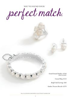 Pearls for the Holidays! #PerfectMatch #SilpadaStyle #Ring #Sterling #Silver www.mysilpada.com/natalie.griffin