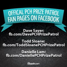Facebook and PCH a match made in Sweepstakes Land (Smiles)