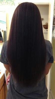 Relaxed Hair. To learn how to grow your hair longer click here - http://blackhair.cc/1jSY2ux